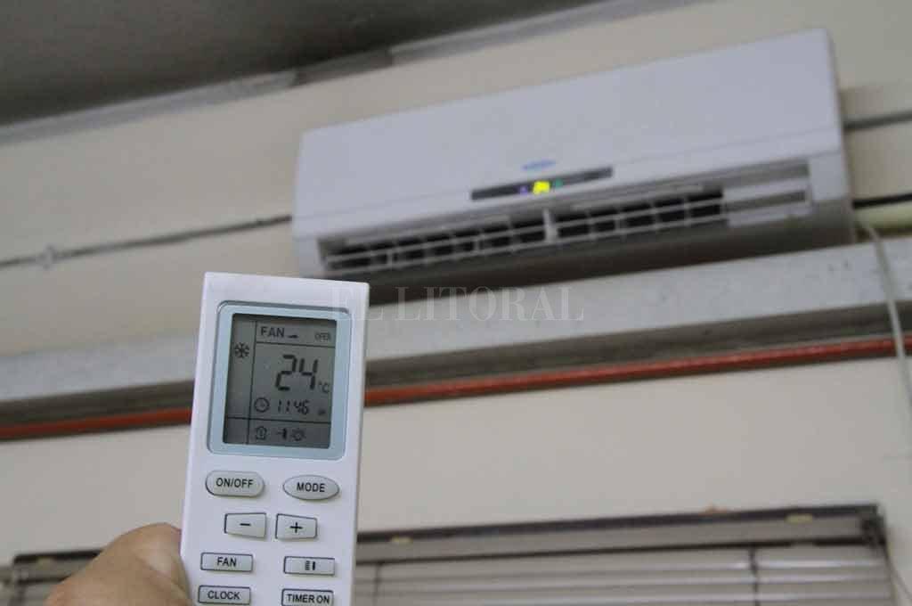 Aconsejan evitar utilizar el aire acondicionado en modo de circulación Crédito: Archivo El Litoral