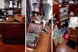 Robos y destrozos en una peluquería céntrica