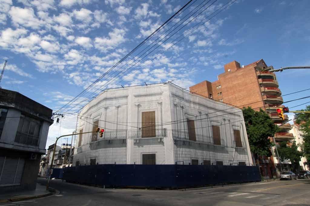 Imponente. La Casa del Brigadier -monumento histórico nacional- comenzaría a ser restaurada en los próximos días. Crédito: Pablo Aguirre