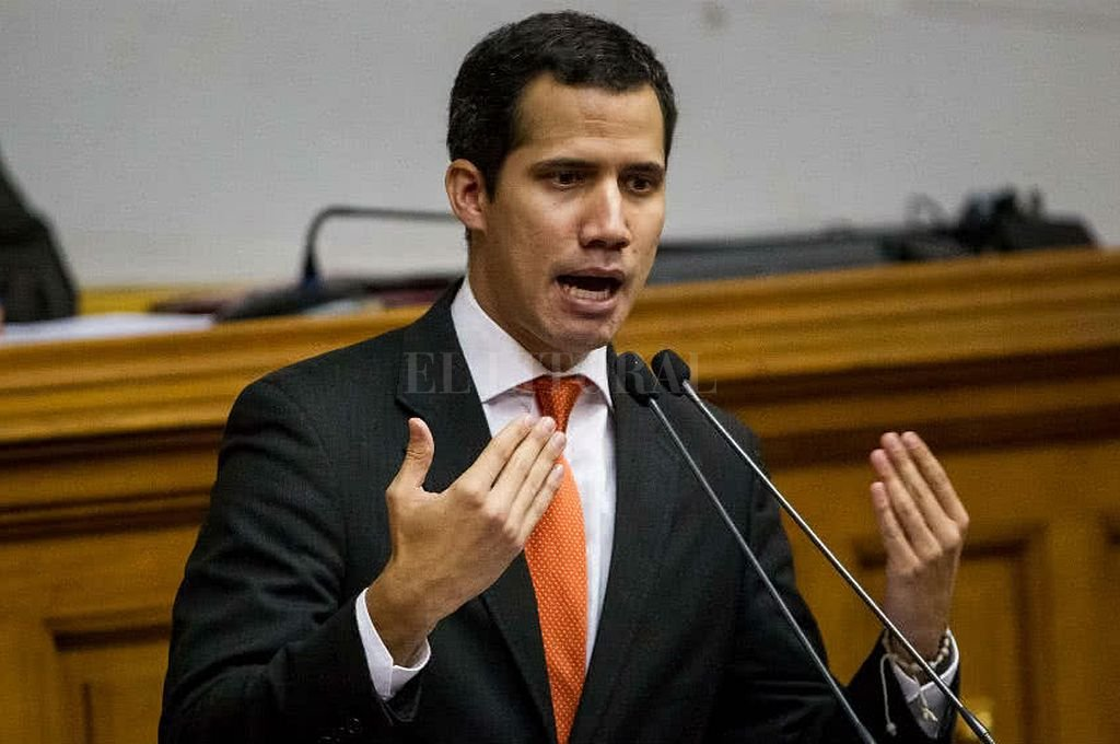 Juan Guaidó. <strong>Foto:</strong> Captura digital