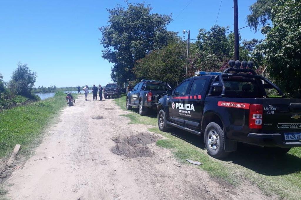 La búsqueda del taxista quedó interrumpida a la espera de la llegada de maquinarias procedentes de Buenos Aires.  <strong>Foto:</strong> El Litoral