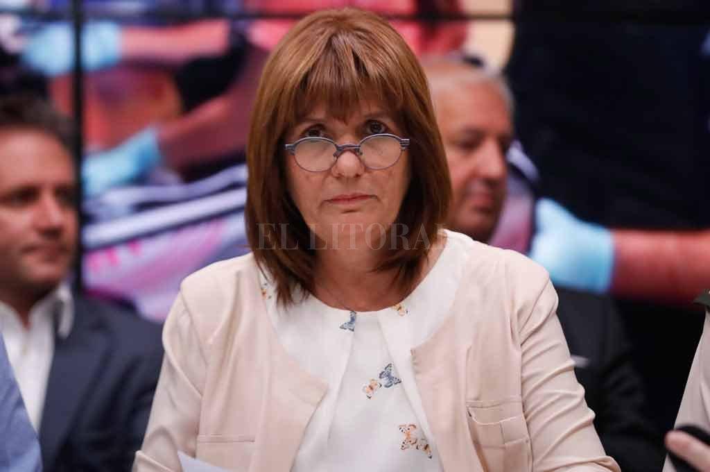 La ministra reconoció que se está trabajando en un proyecto para agilizar la deportación de extranjeros que delinquen Crédito: Archivo El Litoral