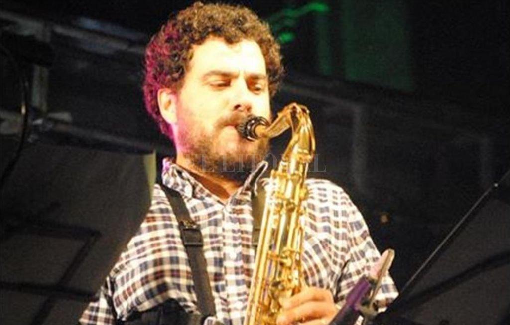 Rosado es uno de los saxofonistas más reconocidos de la escena jazzística santafesina <strong>Foto:</strong> Gentileza producción