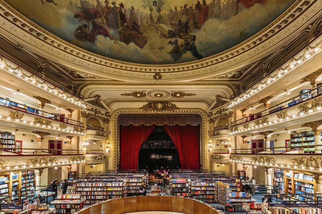 El Ateneo Grand Splendid abrió sus puertas como librería en el año 2000 Crédito: Archivo