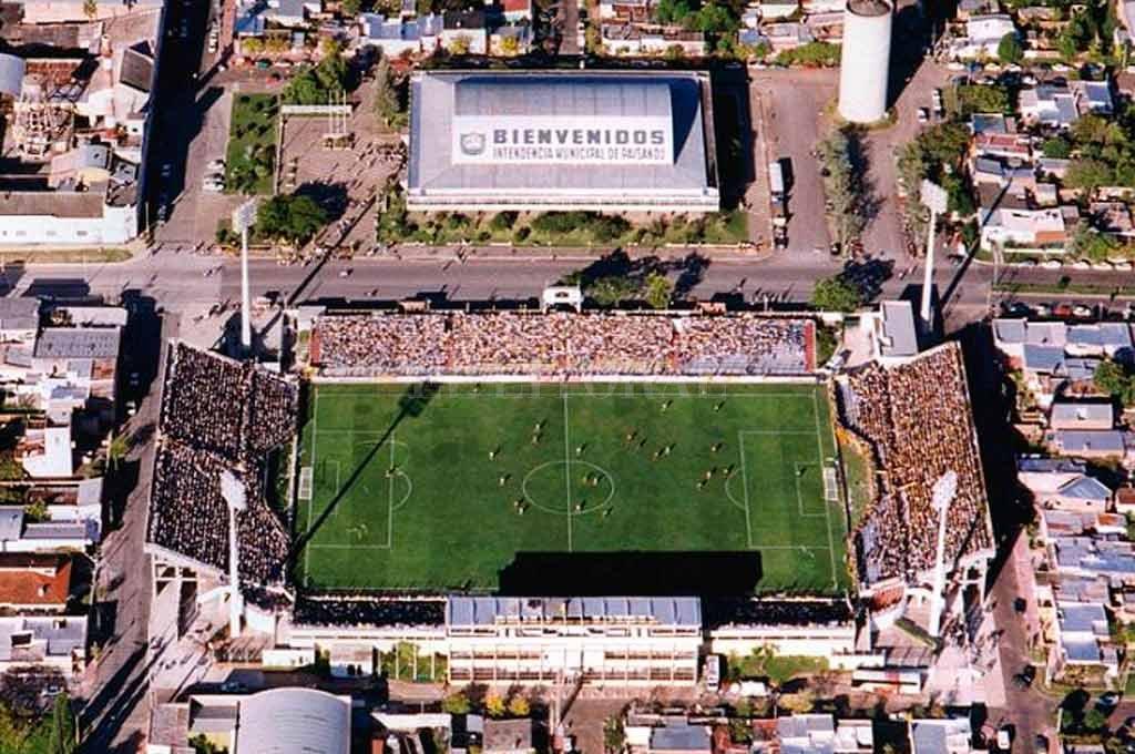 Colón jugará en el estadio Artigas, de la ciudad de Paysandú <strong>Foto:</strong> Internet
