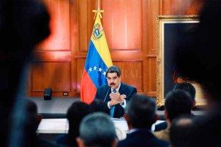 """Maduro señala que EE.UU. """"ha pateado"""" los intentos de diálogo por parte de Venezuela"""