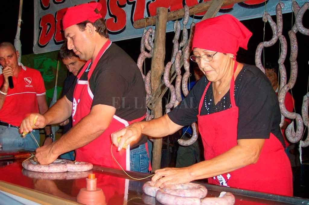 """La tentadora propuesta gastronómica de la """"Familia Chorizo"""", permitirá a los visitantes disfrutar de una serie de variedades Archivo El Litoral"""