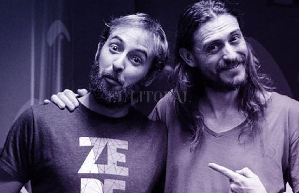 """Gabo Barukel (guitarra) y Agustín """"Flaco"""" Ferrero (voz) llegarán con una propuesta cancionera, con base en el rock. <strong>Foto:</strong> Gentileza producción"""
