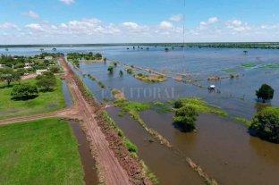 El norte comienza a recibir  agua de Chaco y Santiago