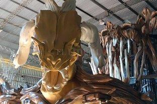 Carnaval de Gualeguaychú: cómo se prepara Ará Yevi para salir a escena