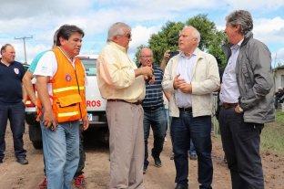 Lifschitz recorrió en el norte las localidades afectadas por las lluvias