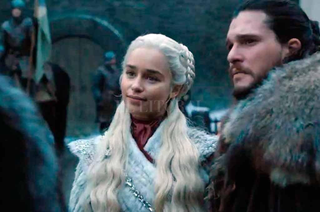 Jon Snow y Daenerys Targaryen, se los verá muy juntos en la última temporada de GoT <strong>Foto:</strong> Gentileza
