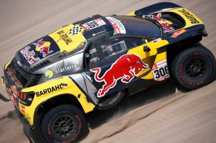 La sexta etapa del Dakar fue para Loeb