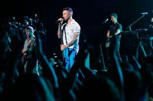 Confirmaron que Maroon 5 dará el show de entretiempo en el Super Bowl -