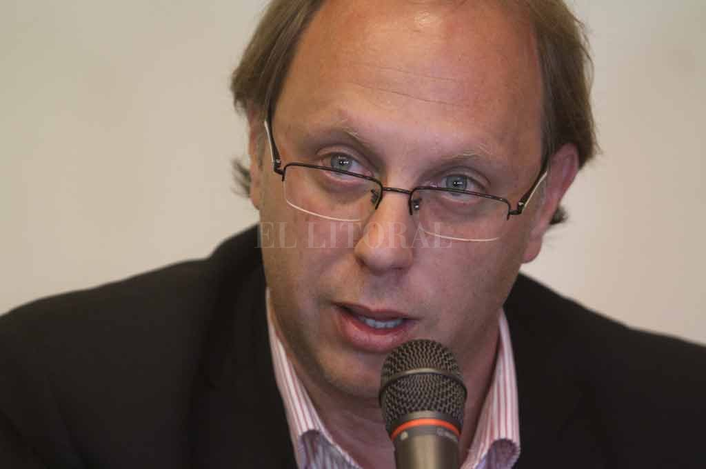 Gonzalo Saglione, ministro de Economía y responsable del manejo de las finanzas provinciales. <strong>Foto:</strong> Archivo El Litoral