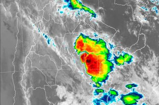 Así avanza la tormenta en Santa Fe