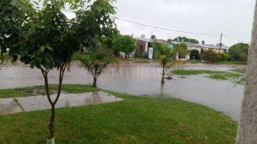 Lluvias: más de 100 milímetros vuelven a complicar el departamento 9 de Julio