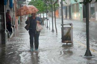"""La ciudad viene """"gambeteando"""" las grandes tormentas en la región - 11 de noviembre. Ese fue el día del último gran temporal en Santa Fe, con 120 milímetros de agua caída. -"""