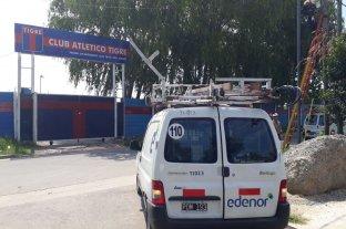 Detectaron una conexión eléctrica clandestina en el Club Tigre