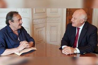 """Lifschitz con Alfonsín: """"Es posible construir un gran espacio de unidad nacional"""" -  -"""