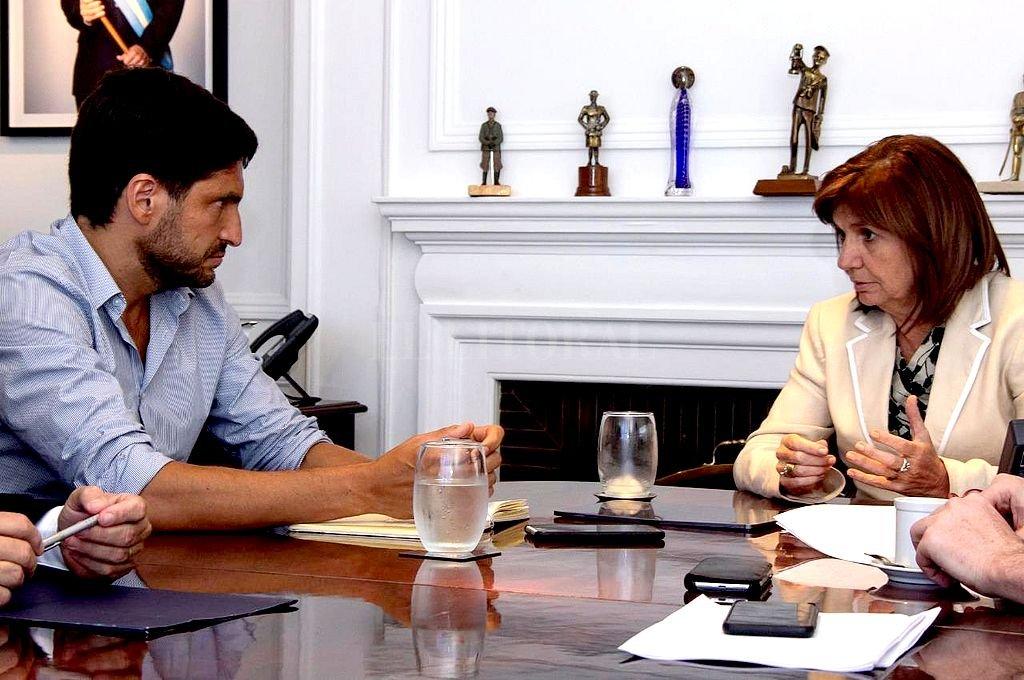 Pullaro se reunió con Patricia Bullrich