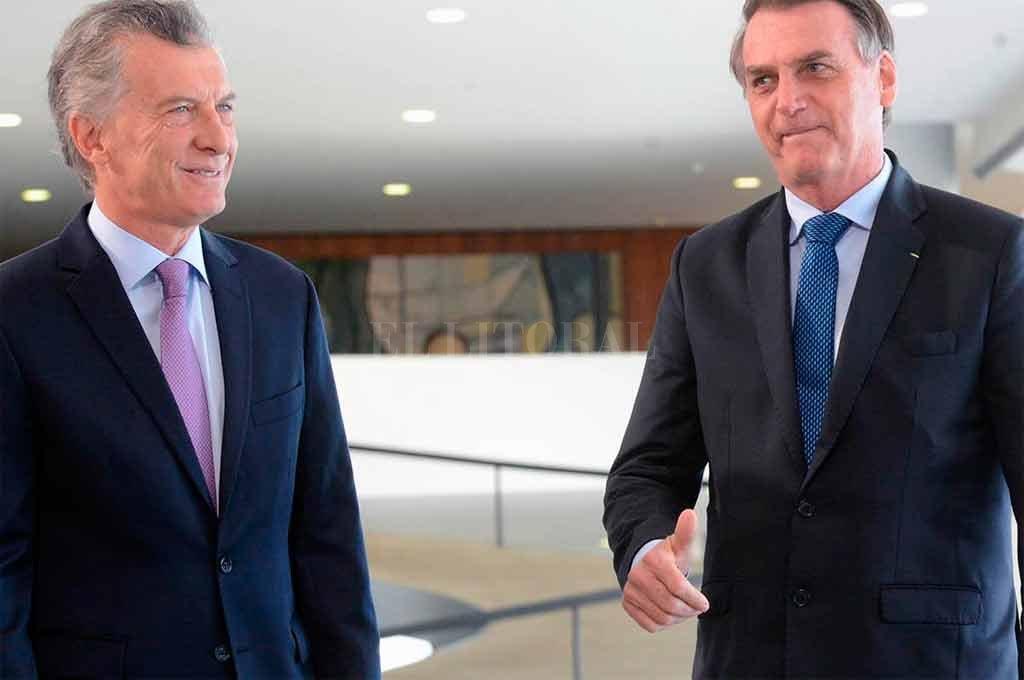 Tras reunirse con Bolsonaro, Macri dijo que la relación con Brasil es estratégica
