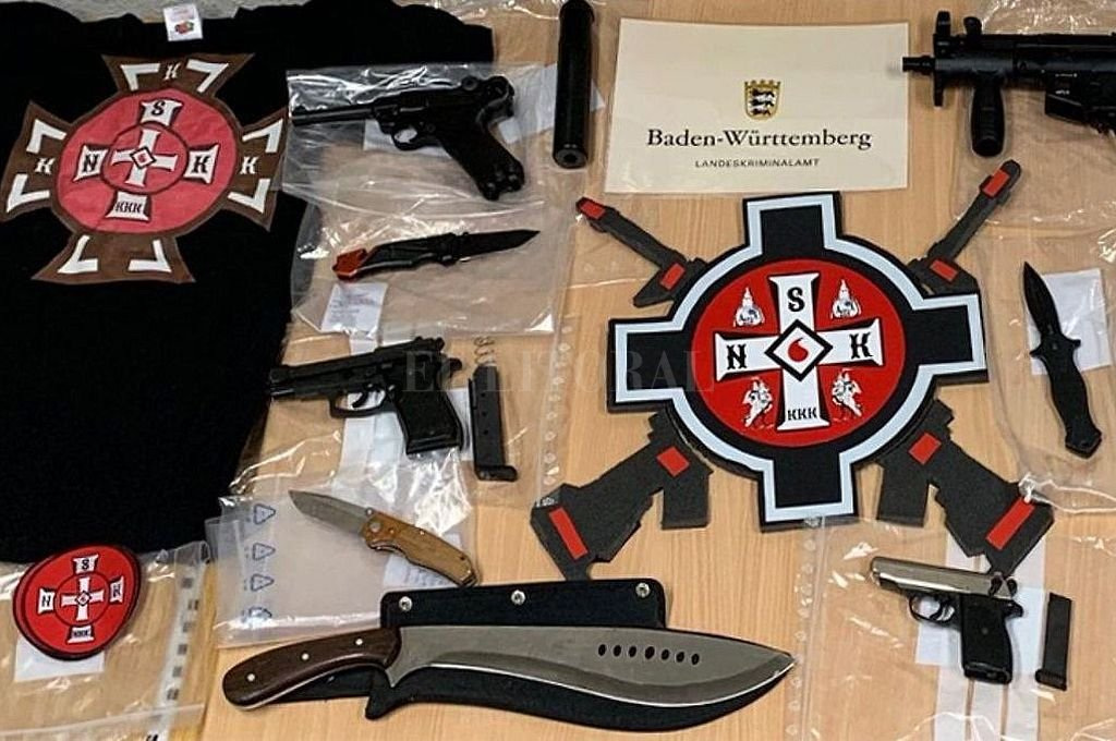 Cae en Alemania una red criminal vinculada al Ku Klux Klan