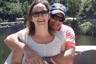 La autopsia reveló que Danisa recibió 10 mazazos en la cabeza - Danisa Canale y Jorge Trossero. -