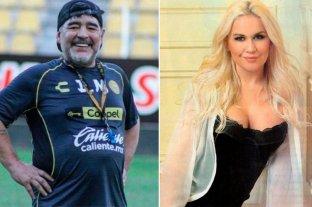 Diego Maradona y Verónica Ojeda se reconciliaron