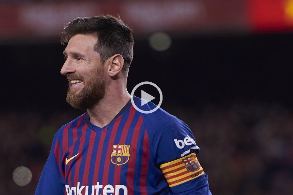 Messi anticipó parte del espectáculo de Cirque du Soleil que contará su vida