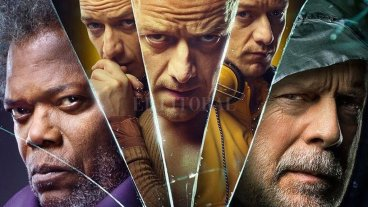Reencuentros inesperados - Elijah Price (Samuel L. Jackson) vuelve a enfrentarse a David Dunn (Bruce Willis), mientras éste persigue a Kevin Wendell Crumb (James McAvoy).  -