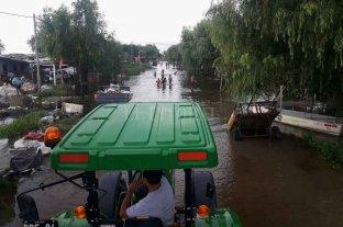Continúa la asistencia a inundados mientras el tiempo no da respiro - EL BARRIO LA CORTADA de Reconquista uno de los más afectados. -
