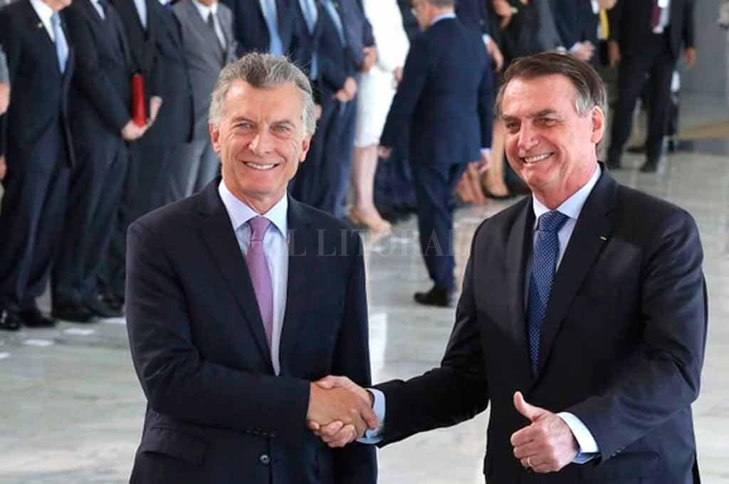 """Destacaron como """"muy productiva"""" la reunión entre Macri y Bolsonaro"""