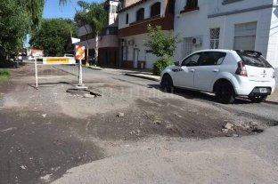 Hace 6 meses, bachearon Candioti Norte y quedó una calle sin terminar