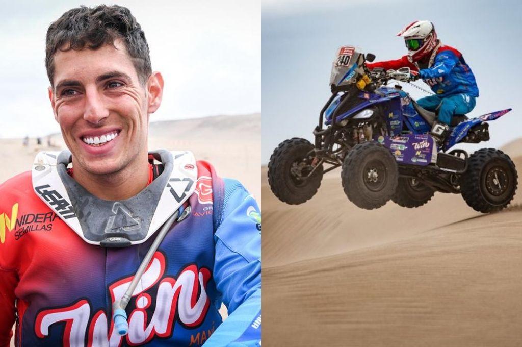 El argentino Nicolás Cavigliasso es el nuevo campeón del Rally Dakar en cuatriciclos