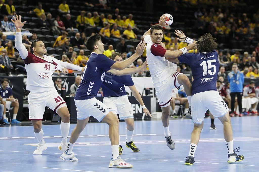Mundial de handball: Argentina perdió con Qatar y jugará por los puestos 17 al 21