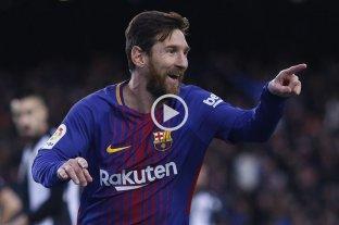 Con gol de Messi el Barcelona dio vuelta la serie pero Levante reclamará los puntos