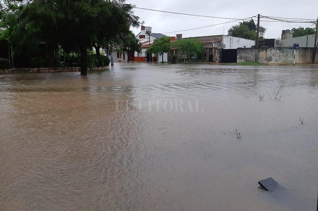 Las lluvias ahora complican a cascos urbanos