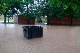 Las lluvias hunden a pueblos enteros bajo el agua y la desesperación   - Calchaquí muy afectada por la lluvia caída -