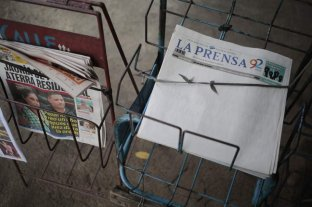 Tapa en blanco en el principal diario de Nicaragua en protesta contra el gobierno