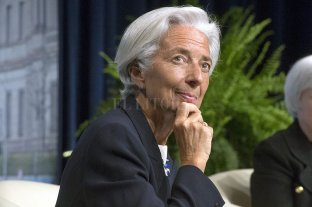 El FMI recomienda subir la edad jubilatoria y pagar menos prestaciones - Christine Lagarde, directora del FMI.
