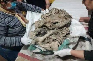 Catamarca: hallan un cuerpo momificado de unos 600 años de antigüedad