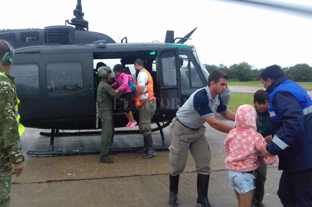 Emergencia hídrica: ascienden a 459 las personas que permanecen evacuadas