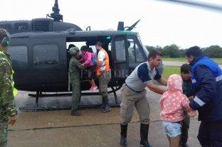 Emergencia hídrica: ascienden a 459 las personas que permanecen evacuadas -  -