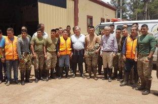 El gobierno provincial continúa asistiendo a localidades del norte afectadas por la emergencia hídrica