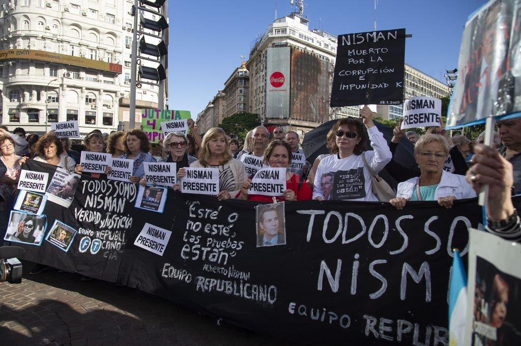 Homenajes y marcha a cuatro años de la muerte de Nisman