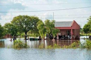 Inundaciones: Nación asiste a cuatro provincias