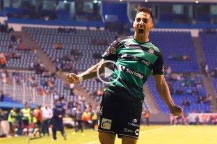 Video: golazo de Correa para Santos Laguna -  -