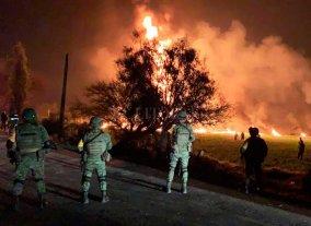 Sube a 85 la cantidad de muertos por la explosión de un oleoducto en México -  -