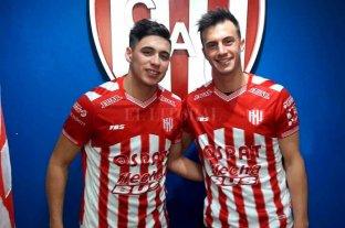 Braian Álvarez sufrió un esguince de tobillo y es baja en Unión - Álvarez y Lotti. Uno salió lesionado y el otro fue la figura ante Boca.  -
